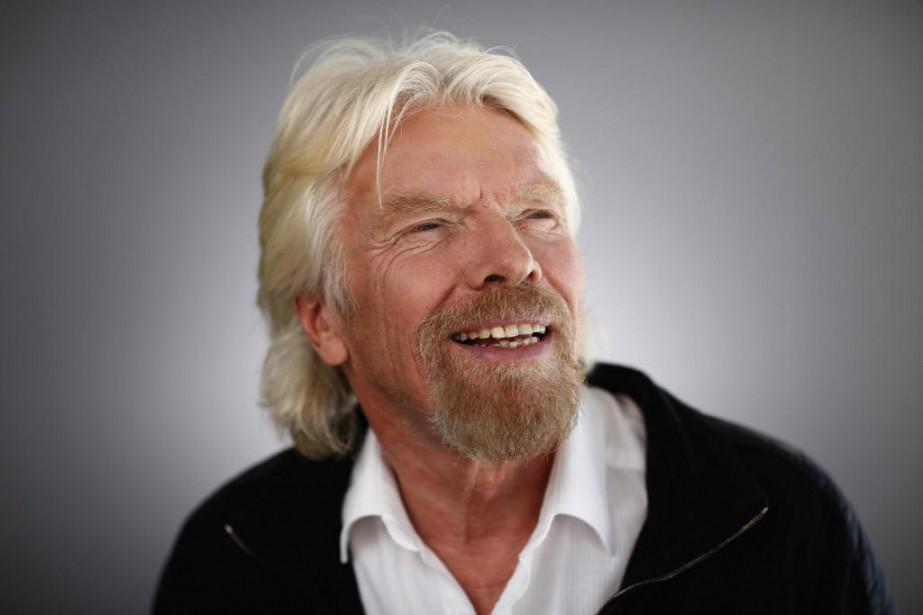 Richard Branson, fondateur du géant anglais Virgin, était... (PhotoSimon Dawson, Archives Bloomberg)