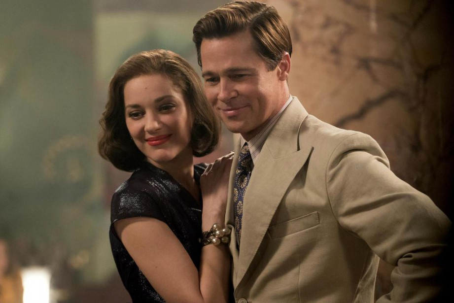 Dans Allied, Brad Pitt et Marion Cotillard incarnent deux... (Photo Daniel Smith, fournie par Paramount Pictures)