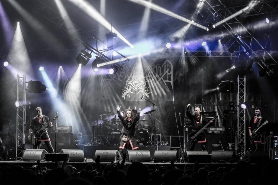 Le groupe Graveland... (Photo tirée du site officiel du groupe)