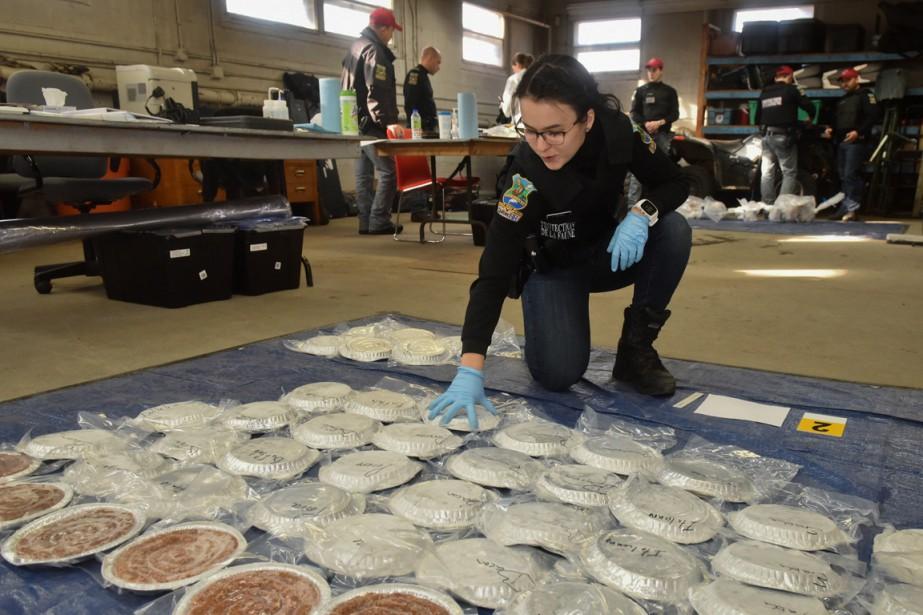 Une importante opération antibraconnage a permis la saisie de centaines de kilos de viande et de poisson en Mauricie. (François Gervais, Le Nouvelliste)