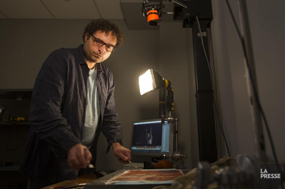 Le cinéaste montréalais d'origine bulgare Theodore Ushev à... (PHOTO IVANOH DEMERS, LA PRESSE)