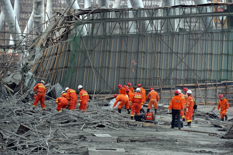 L'accident s'est produit vers 7h00 locales (18h00 mercredi,... (AFP)