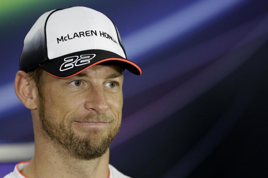 Jenson Button... (Photo Hassn Ammar, AP)