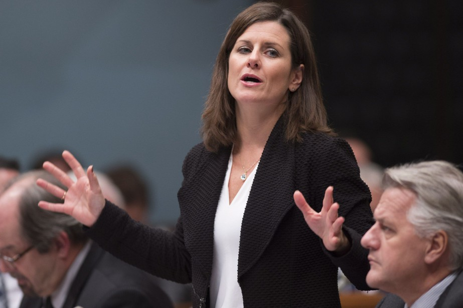 La ministre de la Justice, Stéphanie Vallée.... (Photo Jacques Boissinot, archives La Presse Canadienne)