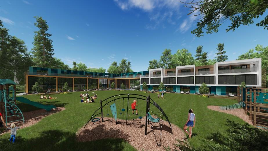 Suites familiales Phase 2 (A3 architecture et Steve Girard Designer)