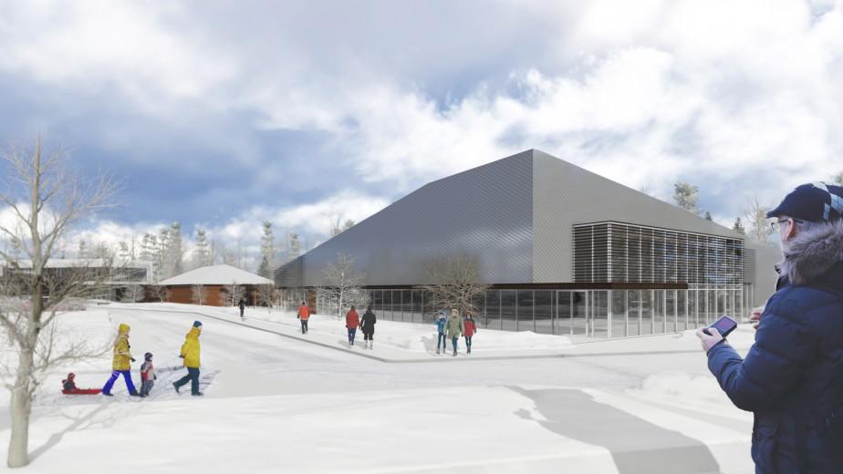 Pavillon d'activités multiples Phase 2 (A3 architecture et Steve Girard Designer)