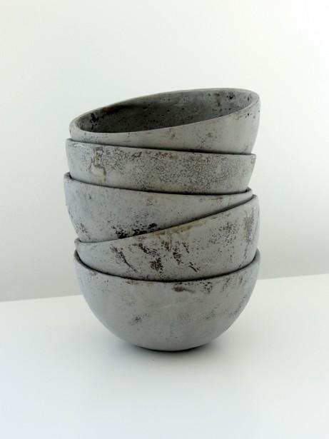 Béton, cuivre, verre, terre cuite, Folia Design essaie de travailler le plus possible avec des matériaux organiques. (Fournie par Folia Design)