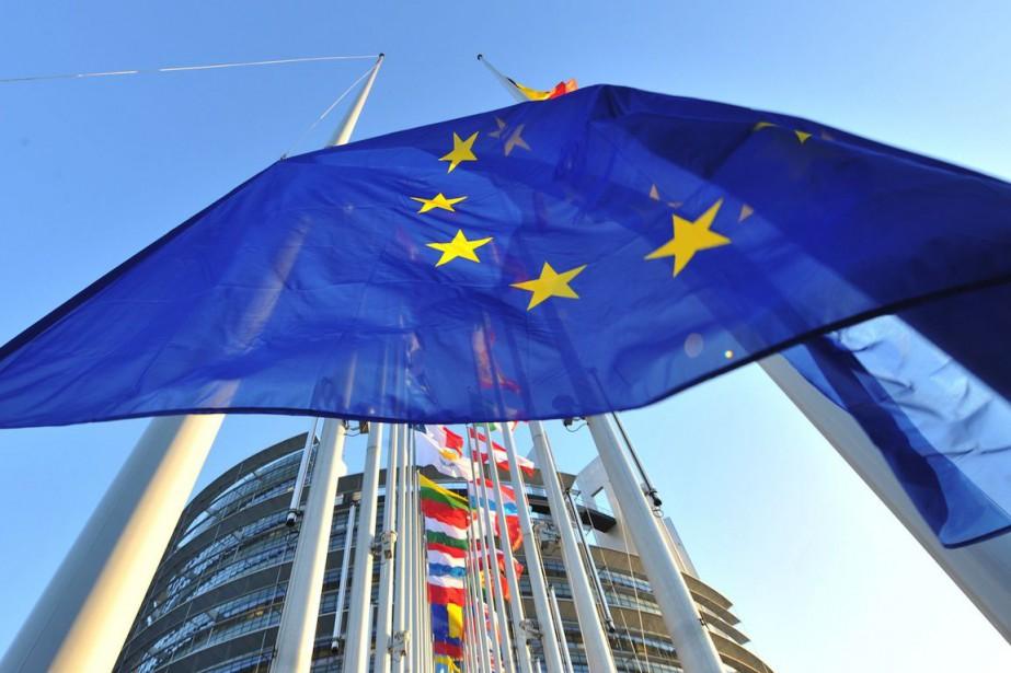 Le vote du Parlement européen sur l'accord... (PHOTO GEORGES GOBET, ARCHIVES AFP)