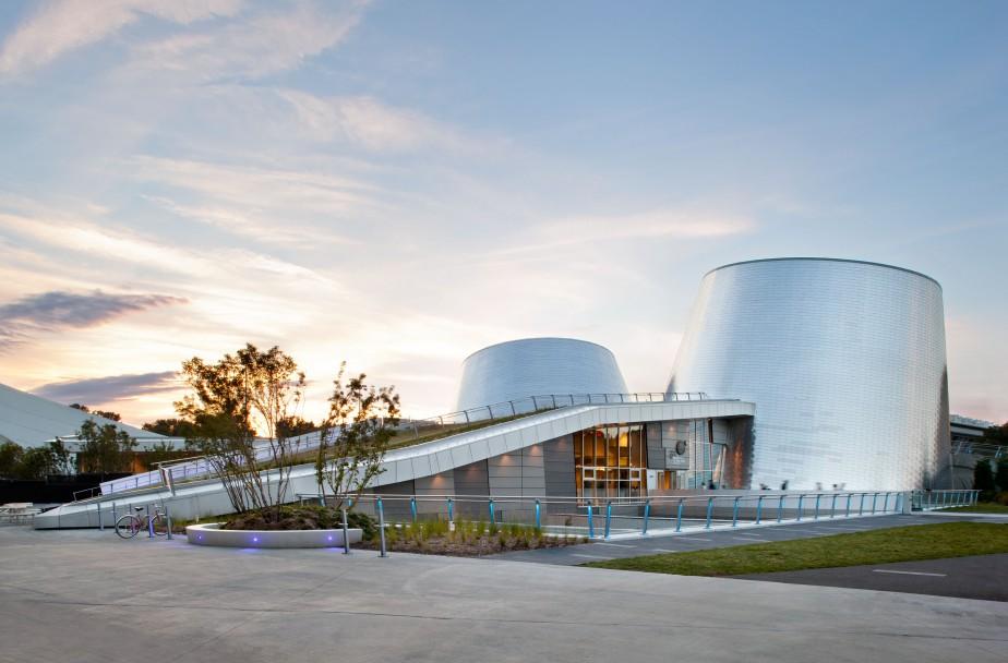 Le Planétarium Rio Tinto Alcan de Montréal fait suite à la tenue d'un concours international remporté par le consortium Cardin Ramirez Julien + AEdifica. (Stéphane Brügger)