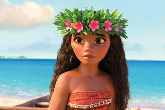 Moana... (PHOTO FOURNIE PAR DISNEY)