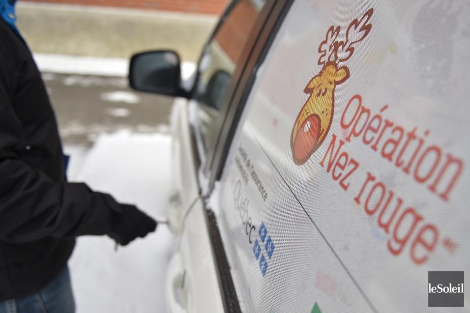 L'opération Nez rouge se tient cette année dans... (PHOTO YAN DOUBLET, ARCHIVES LE SOLEIL)