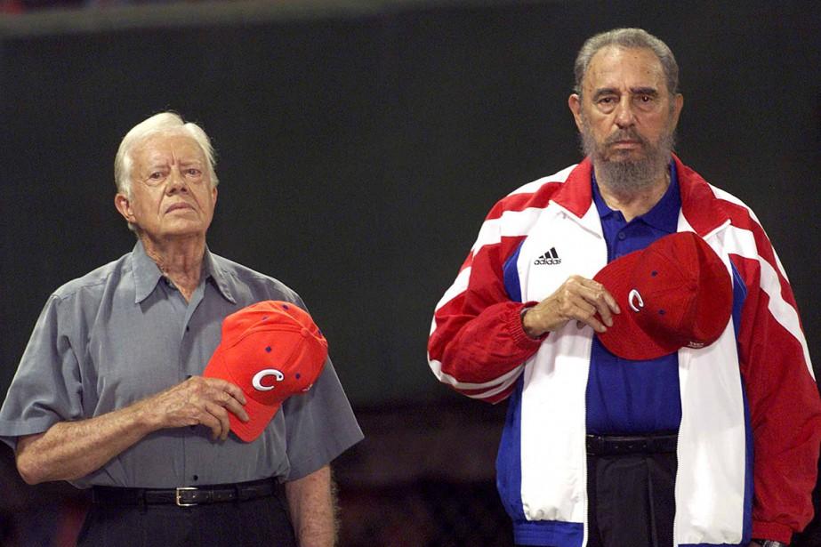 L'ancien président américain Jimmy Carter a assisté à... (Photo Rafael Perez, archives REUTERS)