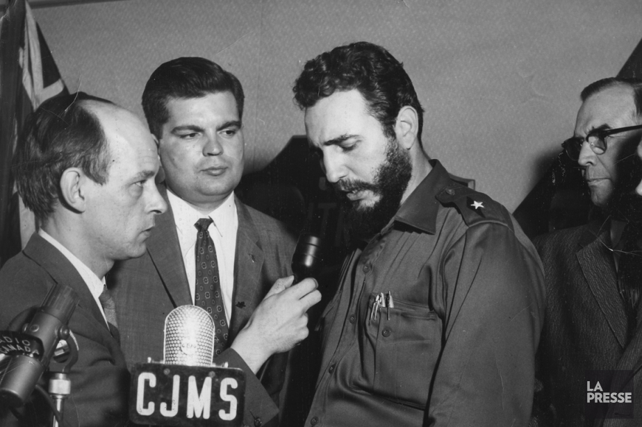 Fidel Castro a participé à une conférence de... (PHOTO PAUL-HENRI TALBOT, ARCHIVES LA PRESSE)