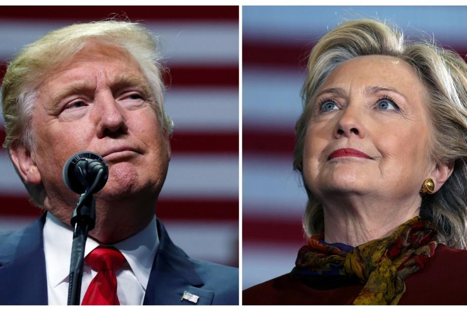 Donald Trump et Hillary Clinton... (Photo archives Reuters)