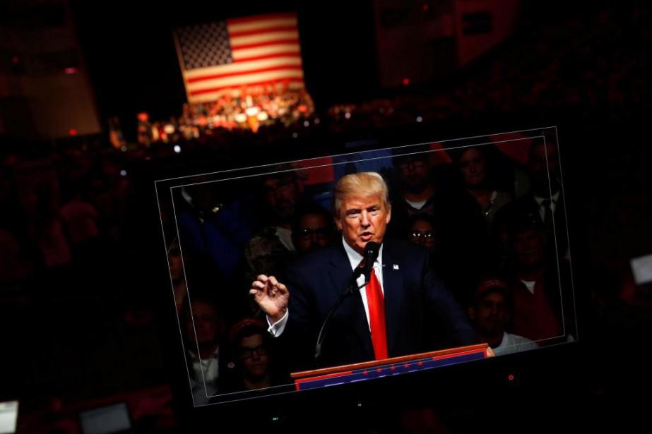 Donald Trump a consenti, mardi, à répondre aux... (PHOTO JONATHAN ERNST, ARCHIVES REUTERS)