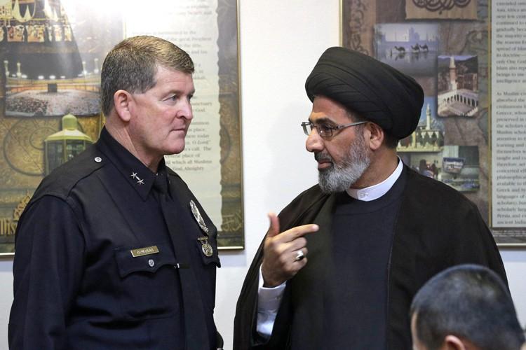 Le chef de la police de Los Angeles,... (PHOTO AP)