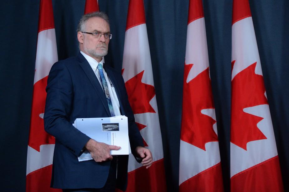 Michael Ferguson... (PHOTO SEAN KILPATRICK, ARCHIVES LA PRESSE CANADIENNE)