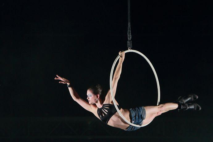 Le Cirque du Soleila indiqué que l'acrobate Lisa... (Photo tirée du site web de l'artiste)