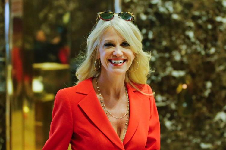 Kellyanne Conway... (PHOTO AFP)