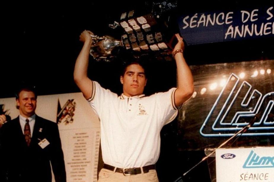 Francis Bouillon a remporté la Coupe Memorial avec... (Photo archives LHJMQ)
