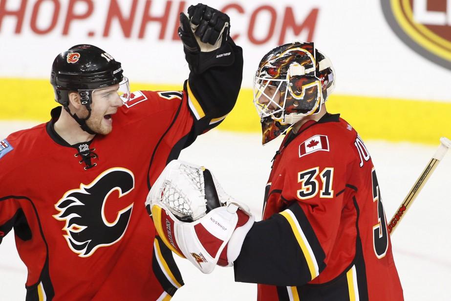Johnson a amorcé huit des 10 derniers matchs... (Photo Larry MacDougal, La Presse canadienne)