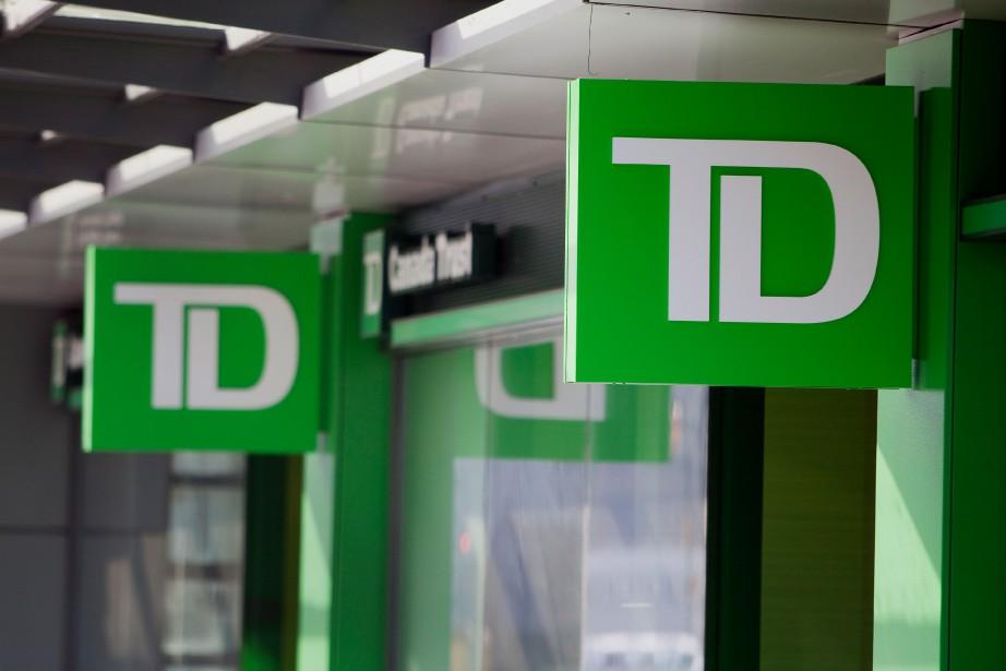 Le bénéfice net de la Banque TD a... (PHOTO Ben Nelms, Archives Bloomberg)