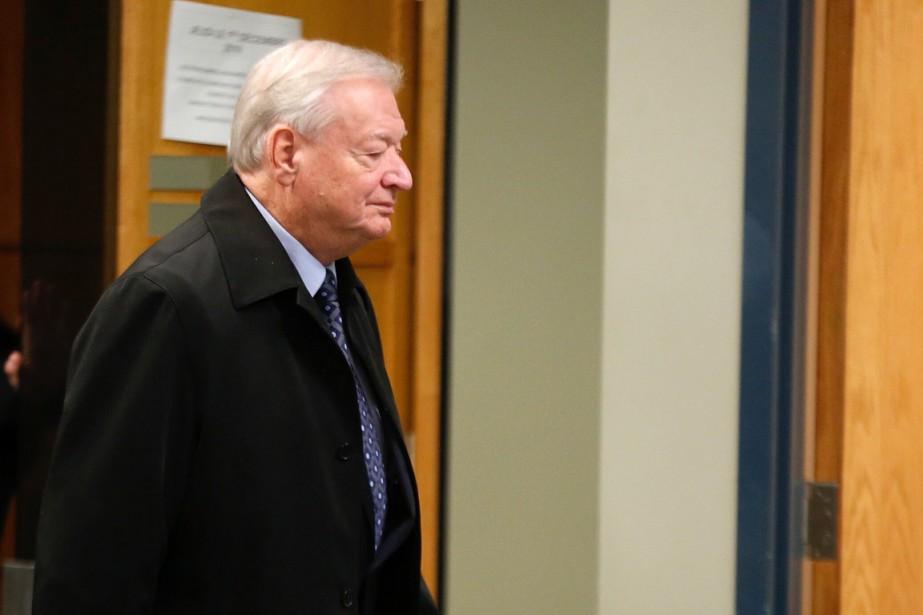 Avant de prendre le chemin de la prison, l'ex-maire de Laval, Gilles...