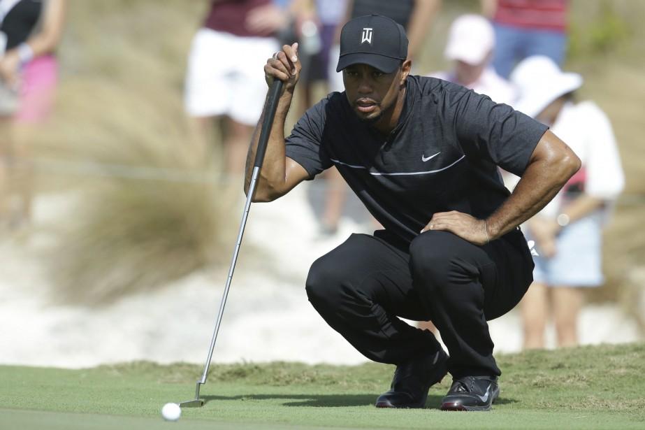 Tiger Woodsparticipe à son premier tournoi depuis le... (Photo Lynne Sladky, AP)