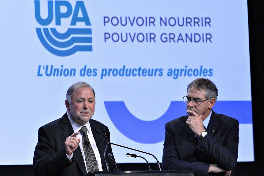 Pierre Paradis et Marcel Groleau.... (PHOTO PASCAL RATTHÉ, ARCHIVES LE SOLEIL)