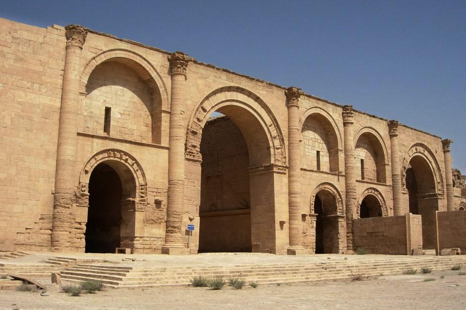 La ville irakienne de Hatra est parmi les... (PHOTO Antonio Castaneda, AP)