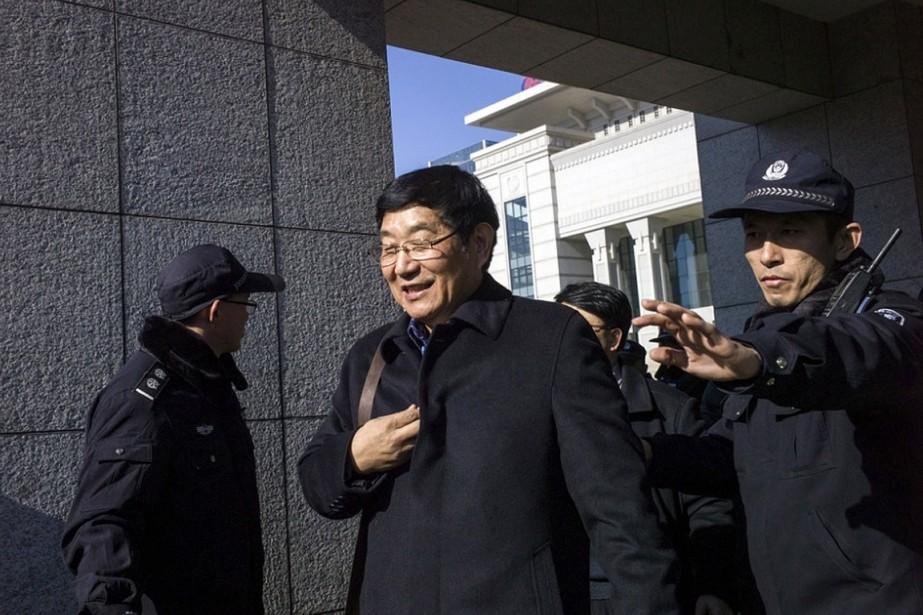 L'avocat de la famille de Nie Shubin, Chen... (Fred Dufour, archives AFP)