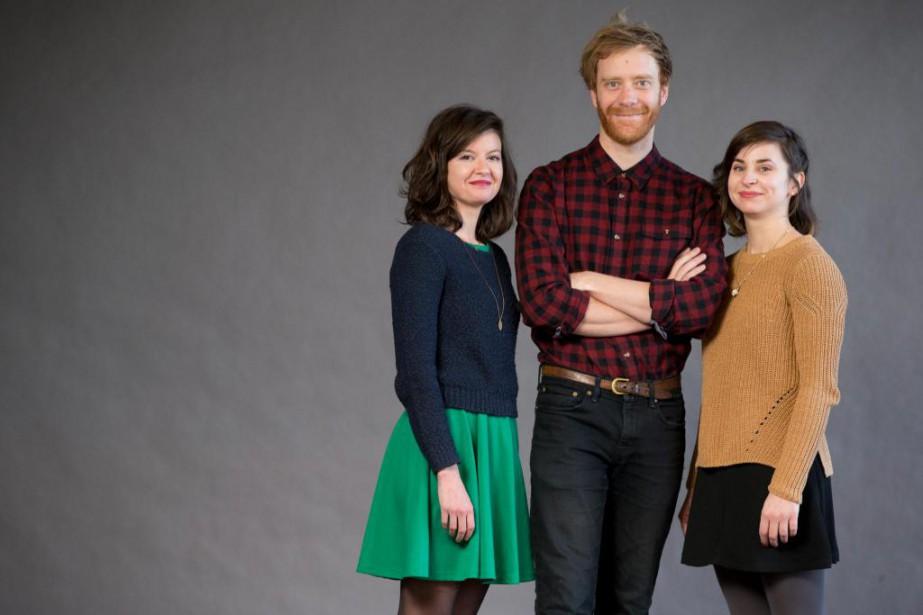 Cette semaine, les trois membres du projet bocal,... (PHOTO FRANÇOIS ROY, LA PRESSE)