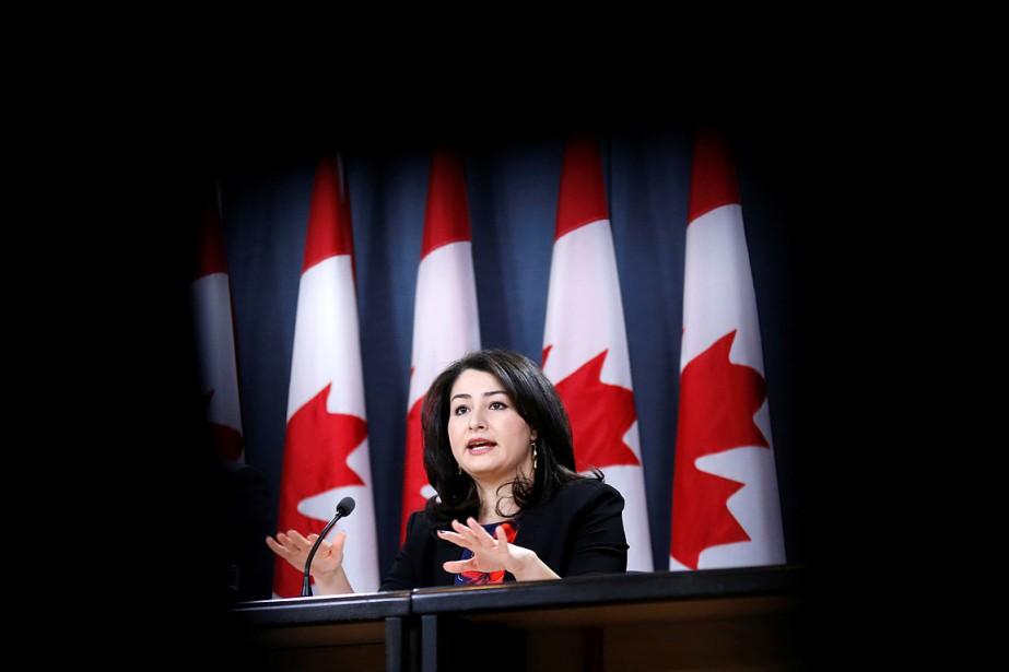 La ministre des Institutions démocratiques, Maryam Monsef.... (Chris Wattie, archives REUTERS)