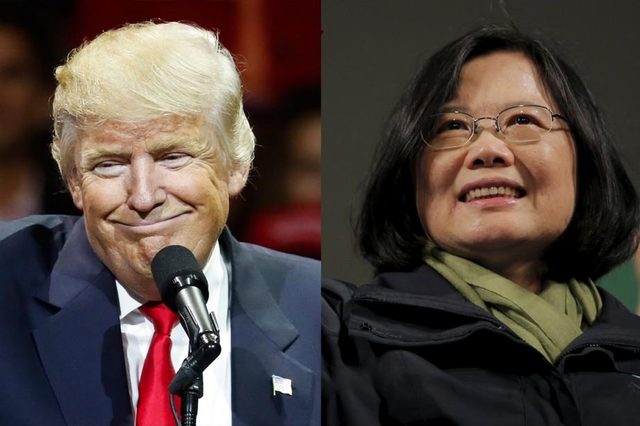 Le président désigné des États-Unis, Donald Trump, et... (Photos Reuters)