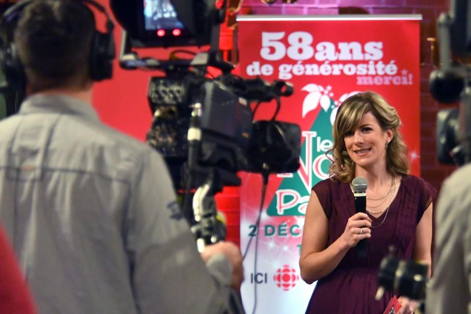 Anne-Marie Lemay a contribué à ce 58e téléthon du Noël du Pauvre. | 2 décembre 2016