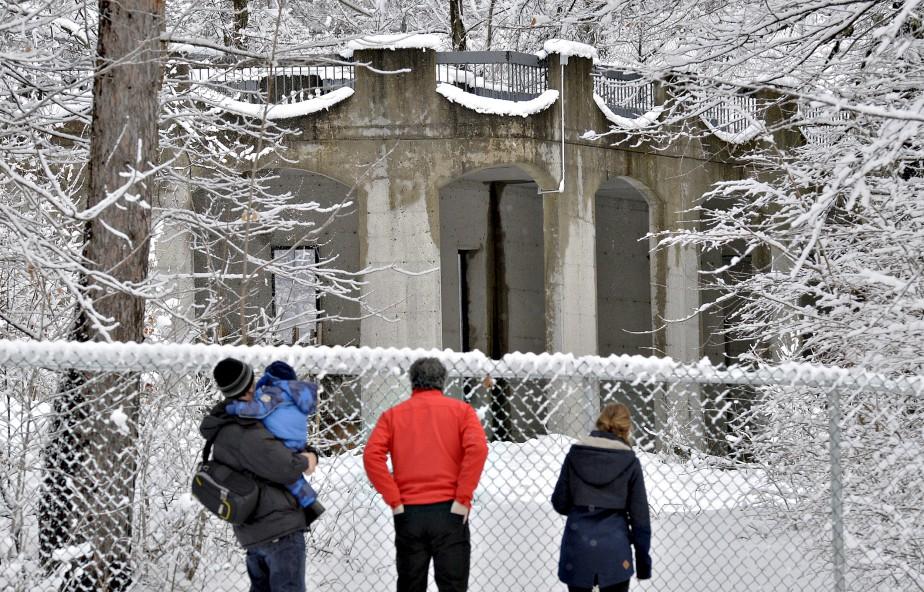 Les nouveaux sentiers pédestres seront ouverts tous les jours, été comme hiver. (Le Soleil, Pascal Ratthé)