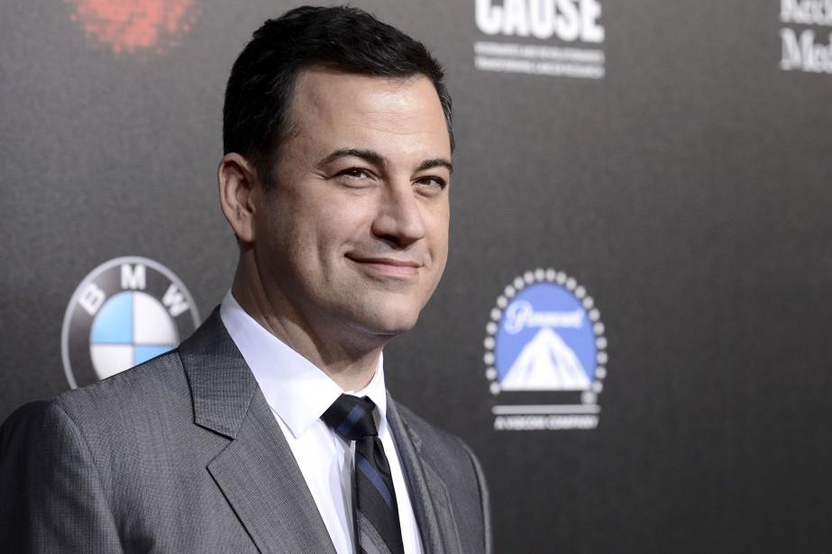 Jimmy Kimmel, qui présente untalk-showà son nom sur... (Archives AP, Dan Steinberg)