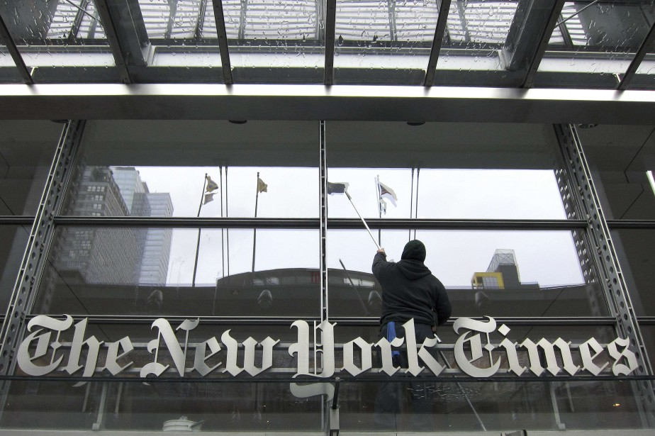 Le New York Times a gagné... (PHOTO Gary Hershorn, ARCHIVES REUTERS)