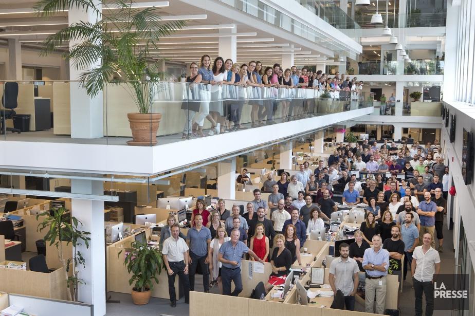Visitez la salle de rédaction de La Presse... (PHOTO DAVID BOILY, LA PRESSE)