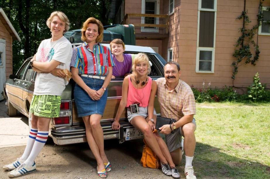 La famille de Mes petits malheurs... (photo fournie par ici radio-canada télé)