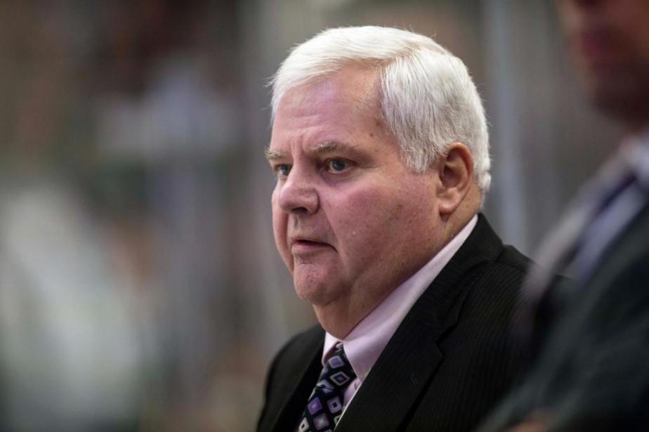 Ken Hitchcock passe une dernière saison derrière le... (PhotoJerome Miron, USA TODAY Sports)