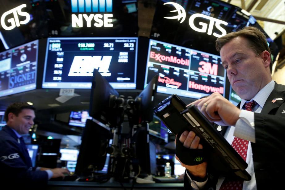Wall Street a légèrement monté mardi à l'issue d'une séance... (PHOTO REUTERS)