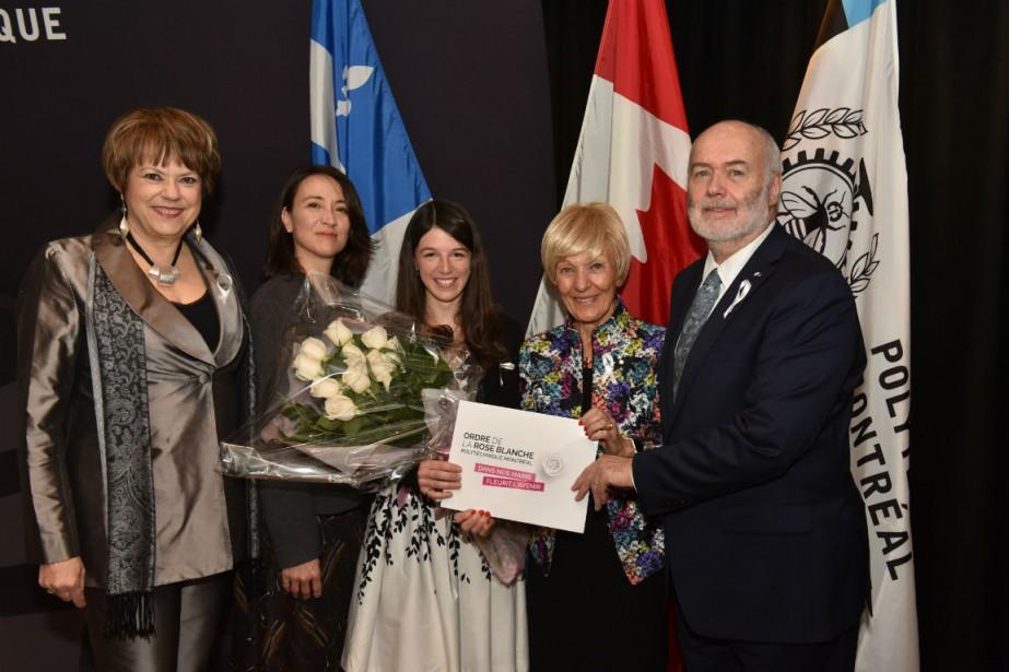 Hélène David, Nathalie Provost, Liane Bernstein, Michèle Thibodeau-DeGuire... (PHOTO FOURNIE PAR POLYTECHNIQUE)