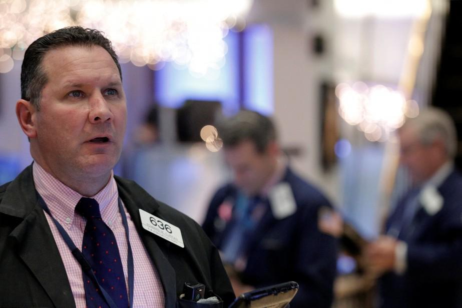 Mercredi, Wall Street se repliait «au moment où... (PHOTO ARCHIVES REUTERS)