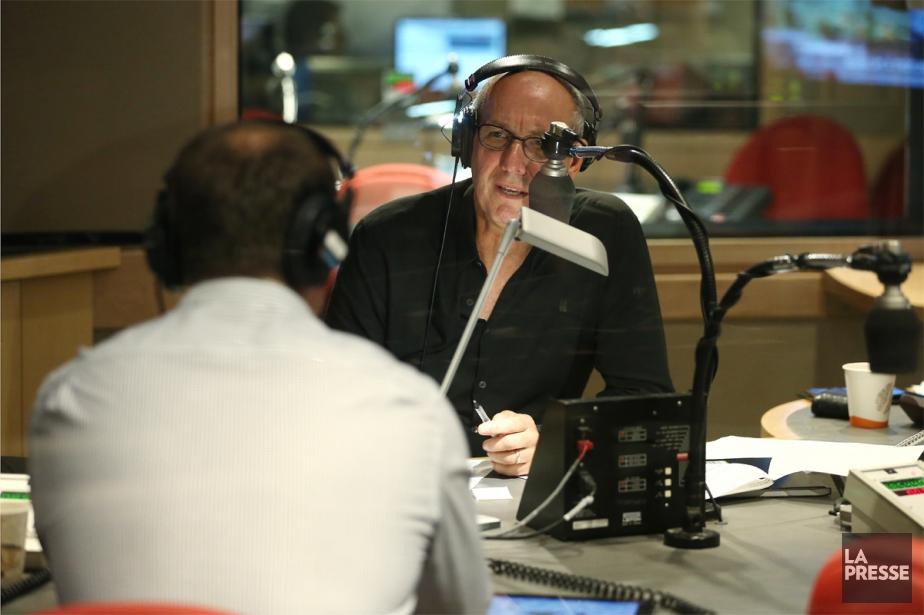 L'émission matinale animée par Alain Gravel est la... (Photo Martin Chamberland, archives La Presse)