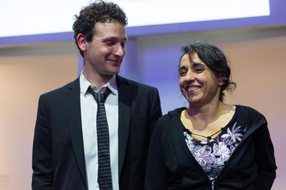 Hier soir, le prix Louis-Comtois 2016 a été... (Photo Olivier Jean, La Presse)