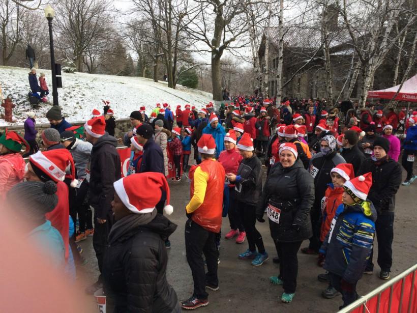 Le 3 décembre dernier, près de 1400 personnes... (PHOTO FOURNIE PAR L'ARMÉE DU SALUT)