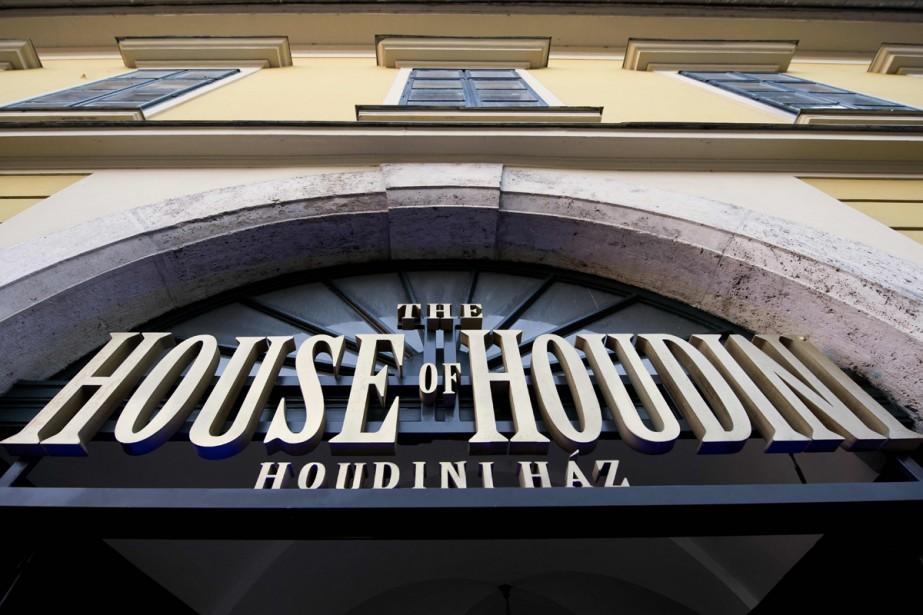Houdini, magicien de légende, aurait apprécié ce tour de... (PHOTO AFP)