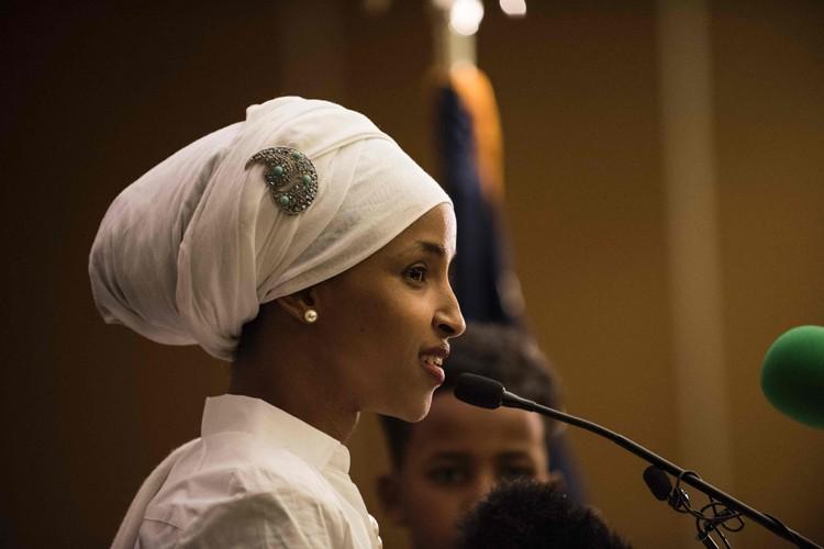 Ilhan Omar... (PHOTO AFP)