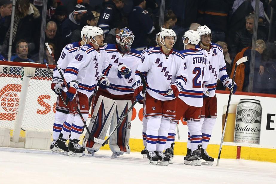 Les Rangers mettront fin à un périple de... (Photo Bruce Fedyck, USA TODAY Sports)